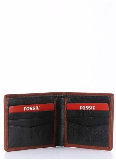 Fossil Deri Cüzdan Siyah
